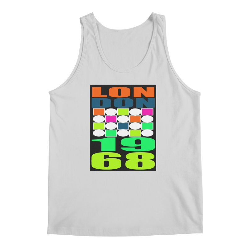 1968 LONDON Men's Regular Tank by THE ORANGE ZEROMAX STREET COUTURE