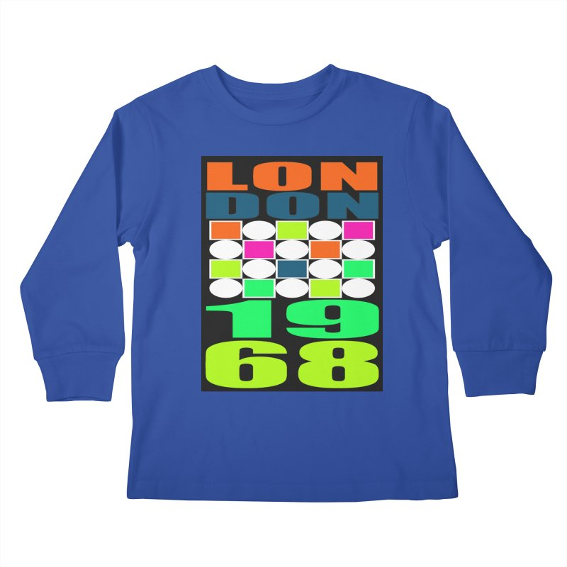 1968 LONDON Kids Longsleeve T-Shirt by THE ORANGE ZEROMAX STREET COUTURE