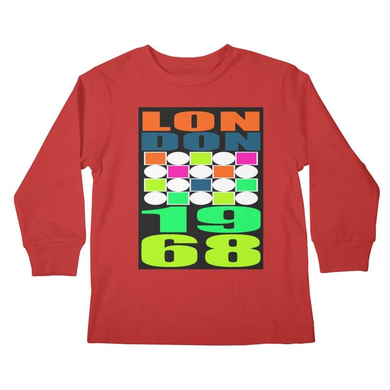 1968 LONDON Kids Longsleeve T-Shirt by THE ORANGE ZEROMAX STREET COUTURE