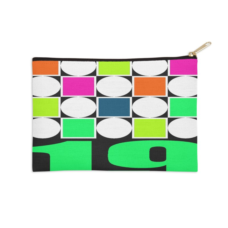 1968 LONDON Accessories Zip Pouch by THE ORANGE ZEROMAX STREET COUTURE