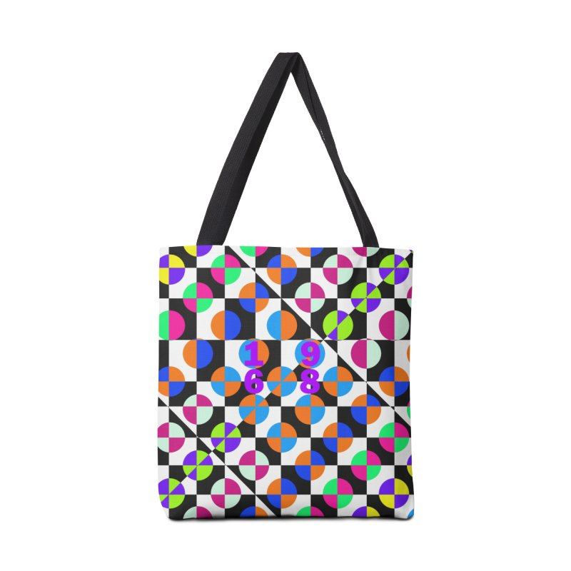 1968 POP DOTS 3 Accessories Bag by THE ORANGE ZEROMAX STREET COUTURE