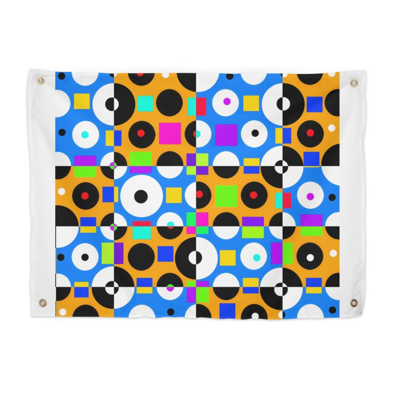 1968 POP DOTS 4 Home Tapestry by THE ORANGE ZEROMAX STREET COUTURE