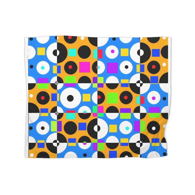 1968 POP DOTS 4 Home Blanket by THE ORANGE ZEROMAX STREET COUTURE