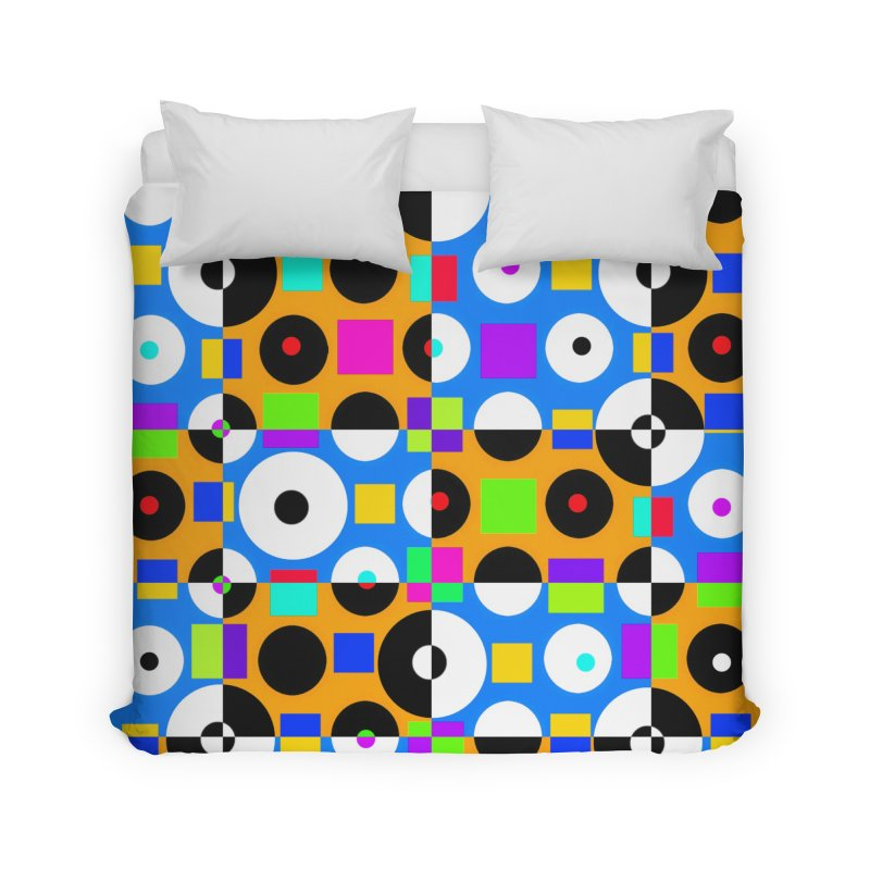1968 POP DOTS 4 Home Duvet by THE ORANGE ZEROMAX STREET COUTURE