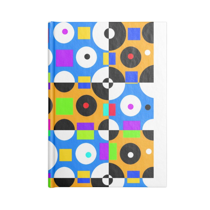 1968 POP DOTS 4 Accessories Notebook by THE ORANGE ZEROMAX STREET COUTURE
