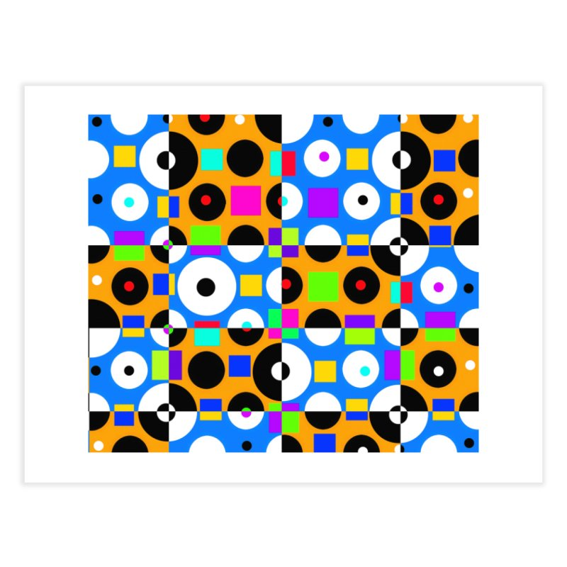 1968 POP DOTS 4 Home Fine Art Print by THE ORANGE ZEROMAX STREET COUTURE