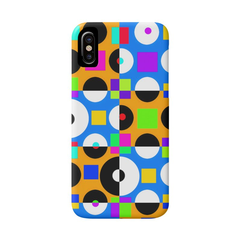 1968 POP DOTS 4 Accessories Phone Case by THE ORANGE ZEROMAX STREET COUTURE