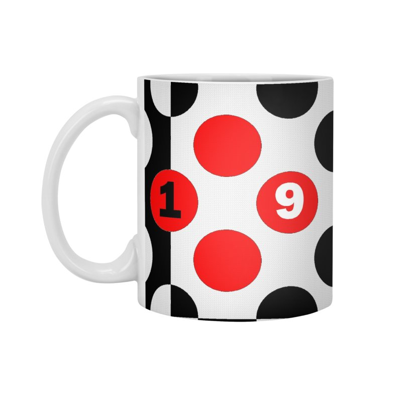 1968 POP DOTS Accessories Mug by THE ORANGE ZEROMAX STREET COUTURE