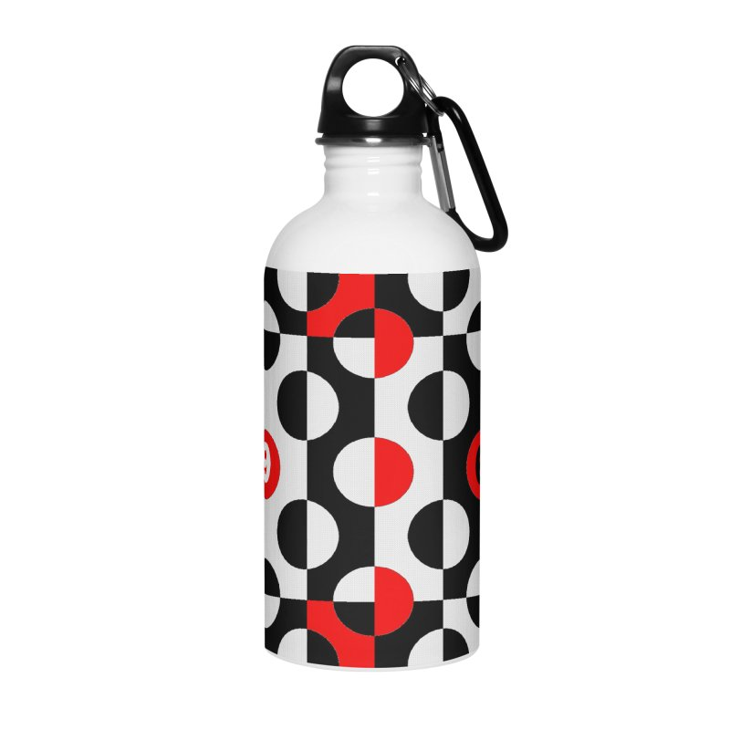 1968 POP DOTS Accessories Water Bottle by THE ORANGE ZEROMAX STREET COUTURE