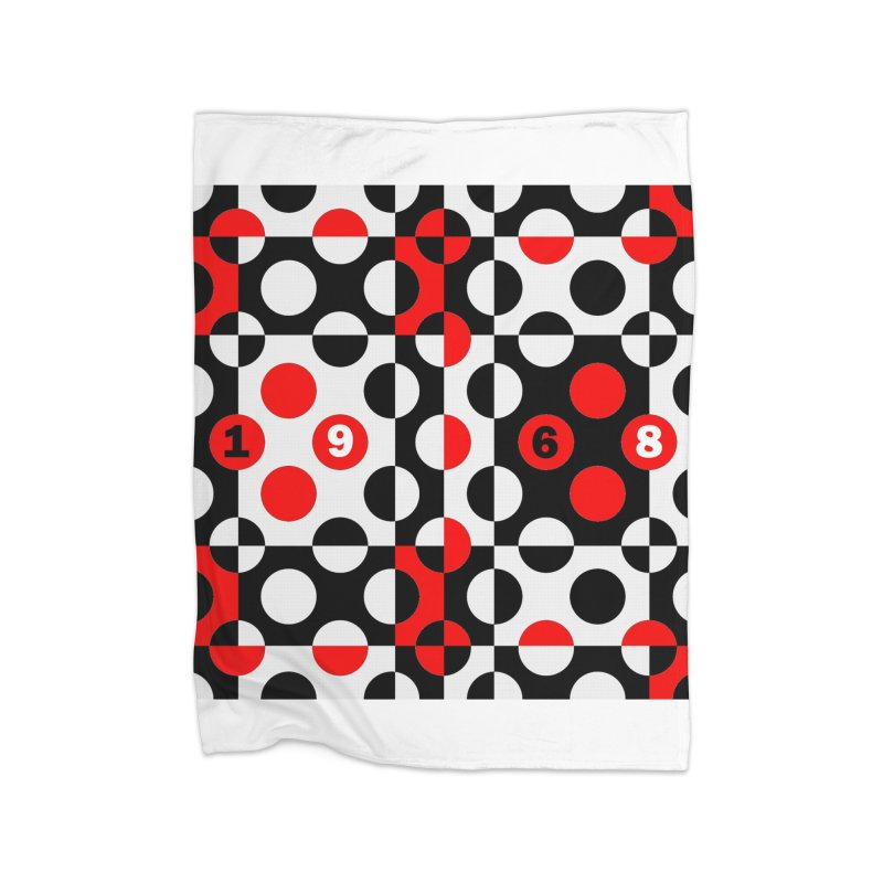 1968 POP DOTS Home Blanket by THE ORANGE ZEROMAX STREET COUTURE