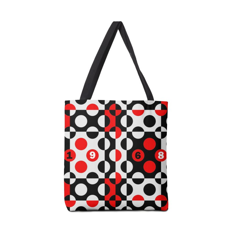 1968 POP DOTS Accessories Bag by THE ORANGE ZEROMAX STREET COUTURE