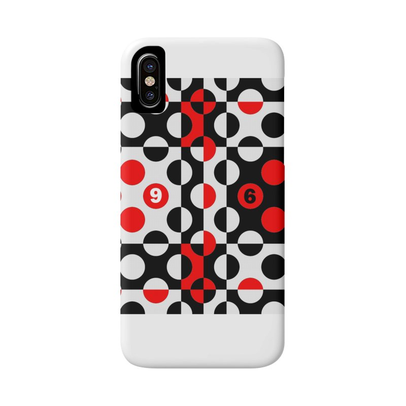 1968 POP DOTS Accessories Phone Case by THE ORANGE ZEROMAX STREET COUTURE