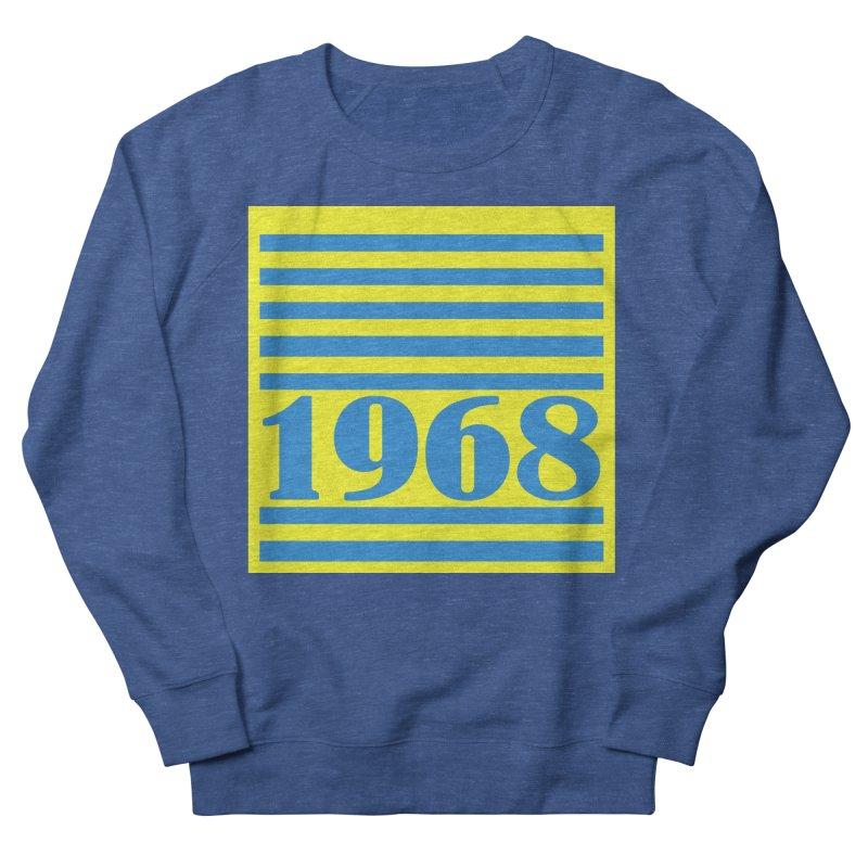 1968 STRIPES-2 Men's Sweatshirt by THE ORANGE ZEROMAX STREET COUTURE