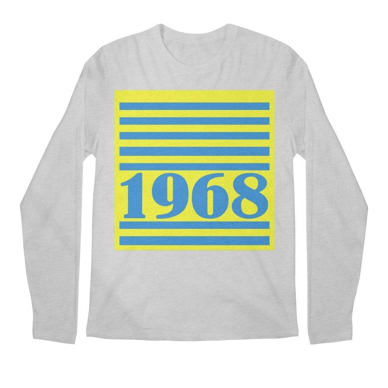 1968 STRIPES-2 Men's Regular Longsleeve T-Shirt by THE ORANGE ZEROMAX STREET COUTURE