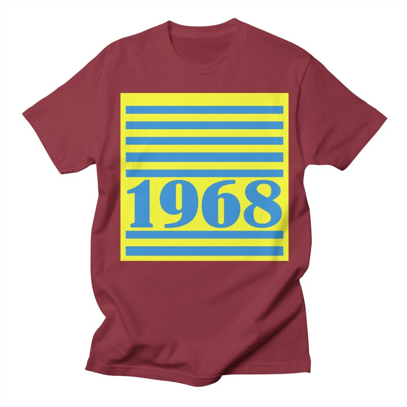 1968 STRIPES-2 Women's Regular Unisex T-Shirt by THE ORANGE ZEROMAX STREET COUTURE