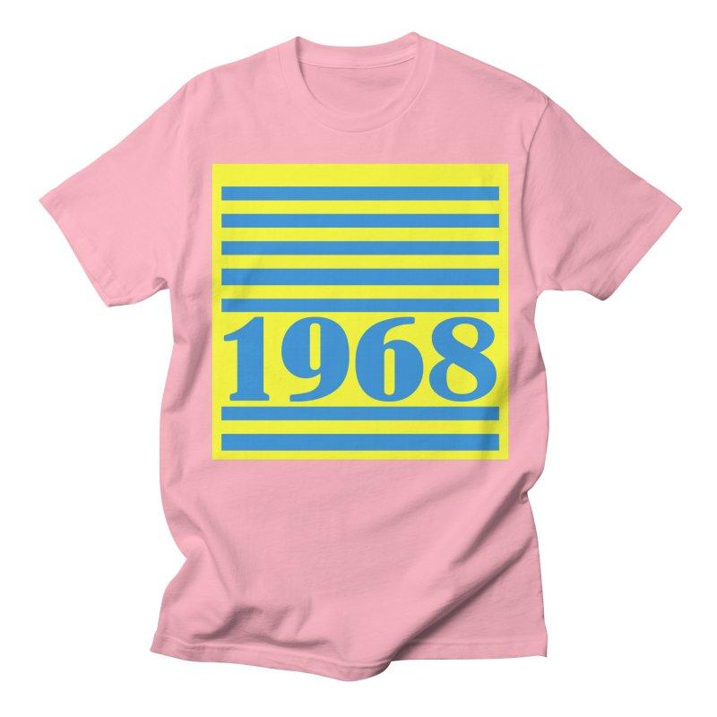 1968 STRIPES-2 Women's Unisex T-Shirt by THE ORANGE ZEROMAX STREET COUTURE