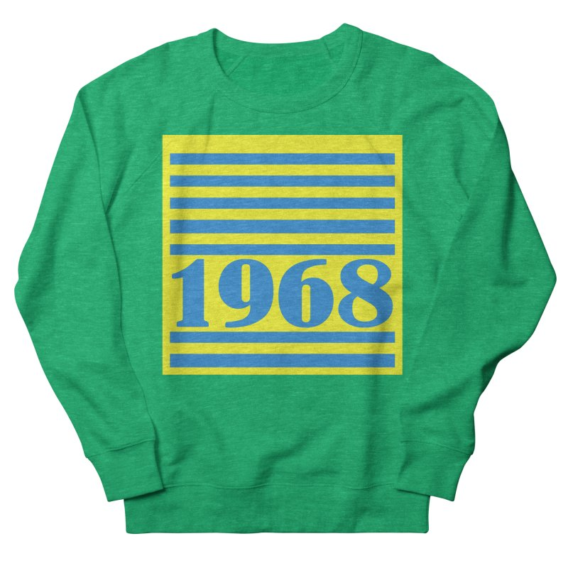 1968 STRIPES-2 Men's Sweatshirt by THE ORANGE ZEROMAX STREET COUTURE