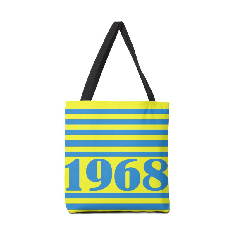 1968 STRIPES-2 Accessories Bag by THE ORANGE ZEROMAX STREET COUTURE