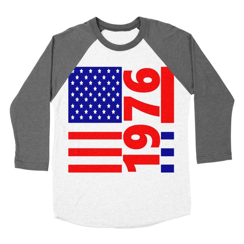 1976 Men's Baseball Triblend Longsleeve T-Shirt by THE ORANGE ZEROMAX STREET COUTURE