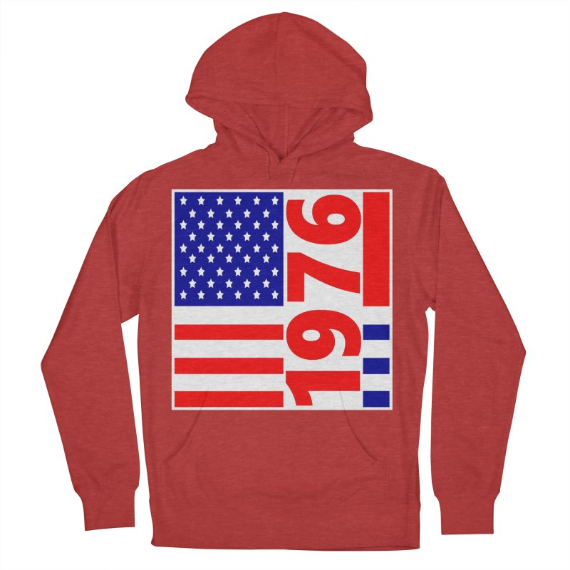 1976 Women's Pullover Hoody by THE ORANGE ZEROMAX STREET COUTURE