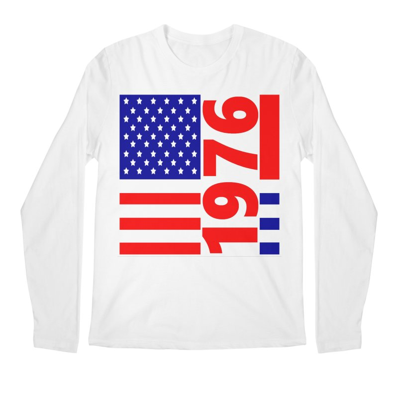 1976 Men's Regular Longsleeve T-Shirt by THE ORANGE ZEROMAX STREET COUTURE