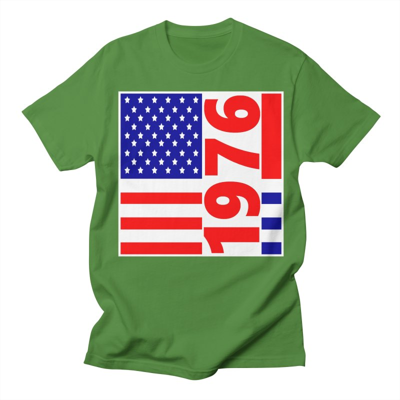 1976 Women's Regular Unisex T-Shirt by THE ORANGE ZEROMAX STREET COUTURE