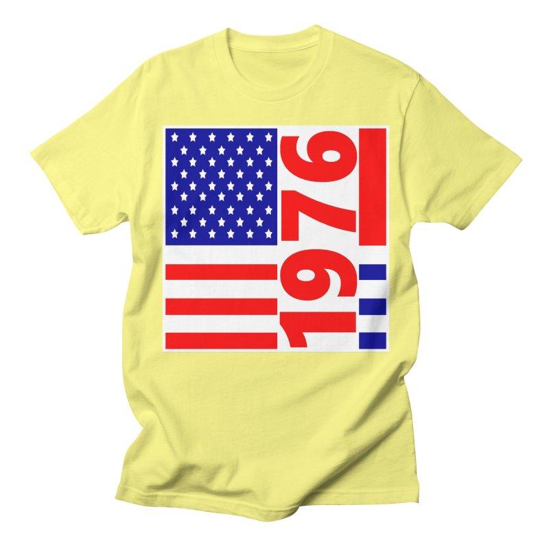 1976 Men's Regular T-Shirt by THE ORANGE ZEROMAX STREET COUTURE