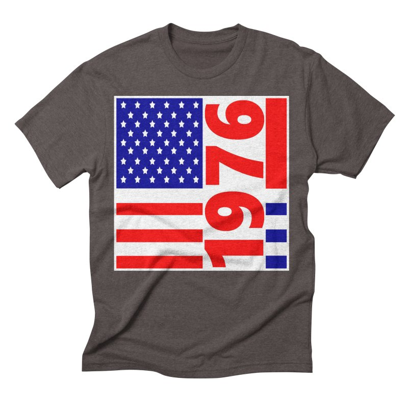 1976 Men's Triblend T-Shirt by THE ORANGE ZEROMAX STREET COUTURE