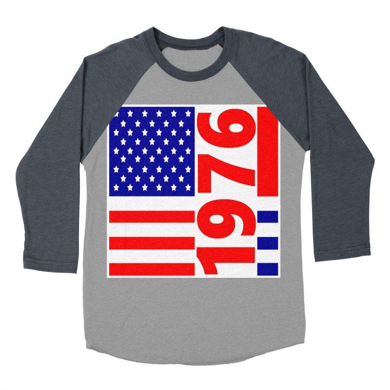 1976 Women's Baseball Triblend Longsleeve T-Shirt by THE ORANGE ZEROMAX STREET COUTURE