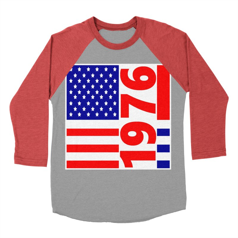 1976 Men's Baseball Triblend T-Shirt by THE ORANGE ZEROMAX STREET COUTURE