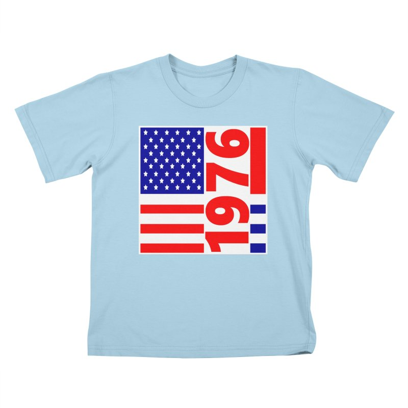1976 Kids T-Shirt by THE ORANGE ZEROMAX STREET COUTURE