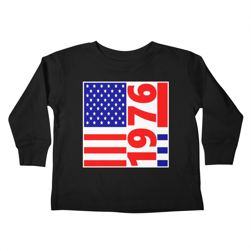 1976 Kids Toddler Longsleeve T-Shirt by THE ORANGE ZEROMAX STREET COUTURE