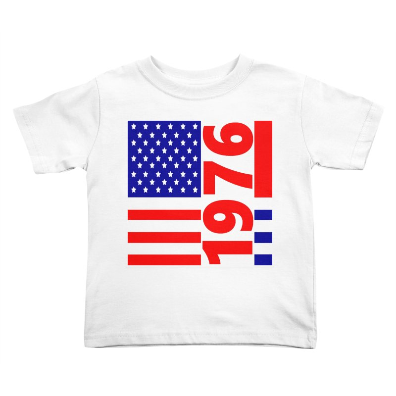 1976 Kids Toddler T-Shirt by THE ORANGE ZEROMAX STREET COUTURE