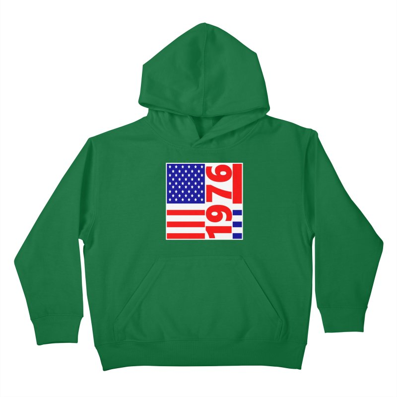 1976 Kids Pullover Hoody by THE ORANGE ZEROMAX STREET COUTURE