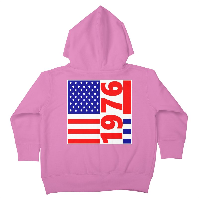 1976 Kids Toddler Zip-Up Hoody by THE ORANGE ZEROMAX STREET COUTURE
