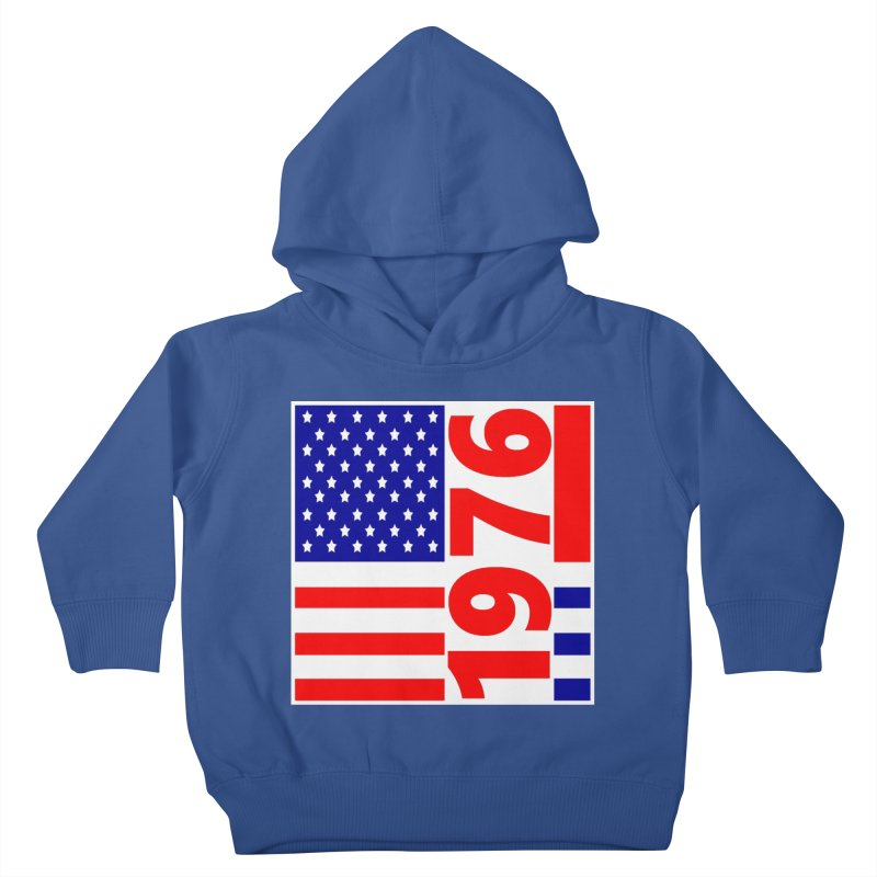1976 Kids Toddler Pullover Hoody by THE ORANGE ZEROMAX STREET COUTURE