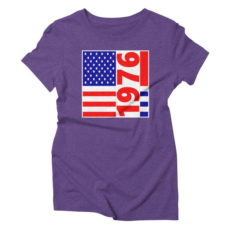 1976 Women's Triblend T-Shirt by THE ORANGE ZEROMAX STREET COUTURE