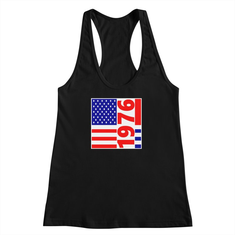 1976 Women's Racerback Tank by THE ORANGE ZEROMAX STREET COUTURE