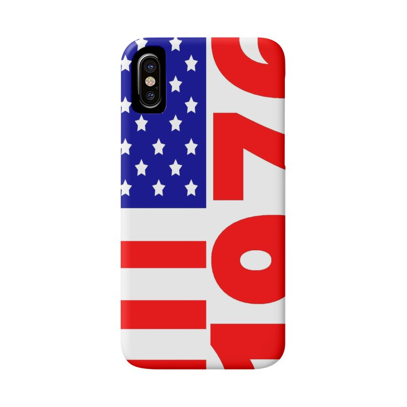 1976 Accessories Phone Case by THE ORANGE ZEROMAX STREET COUTURE