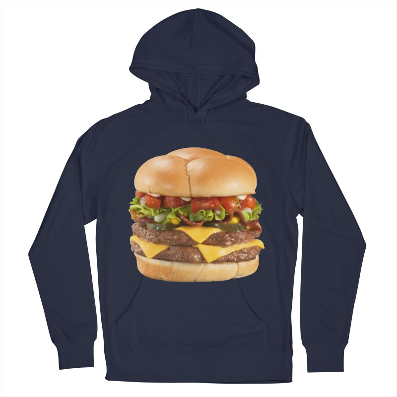DOUBLE CHEESEBURGER Men's Pullover Hoody by THE ORANGE ZEROMAX STREET COUTURE