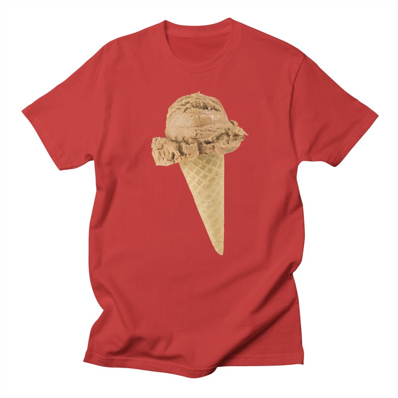 ICE CREAM-3 in Men's Regular T-Shirt Red by THE ORANGE ZEROMAX STREET COUTURE