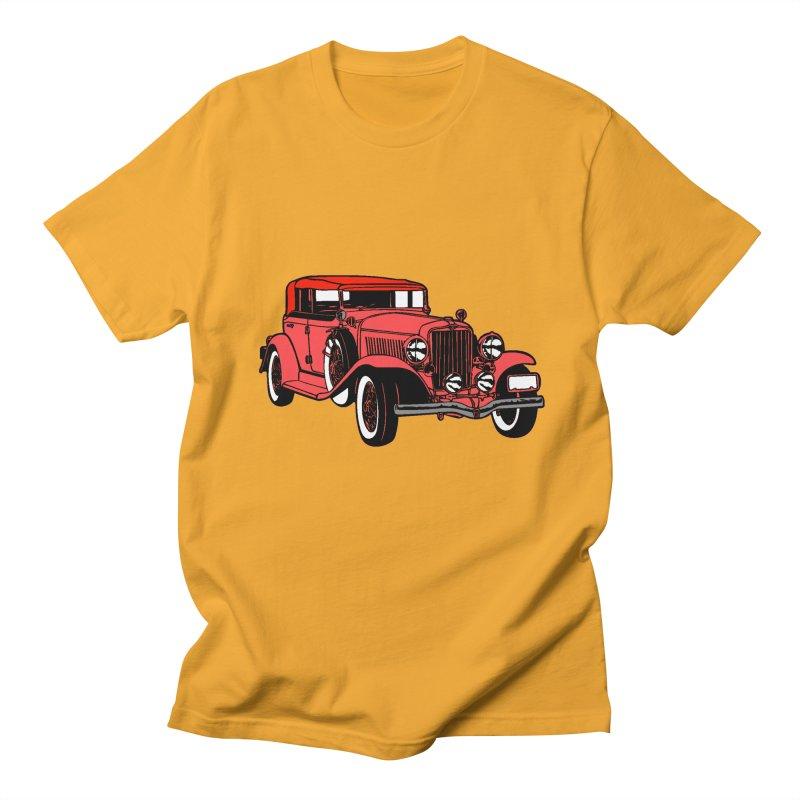 SEDAN in Men's Regular T-Shirt Gold by THE ORANGE ZEROMAX STREET COUTURE
