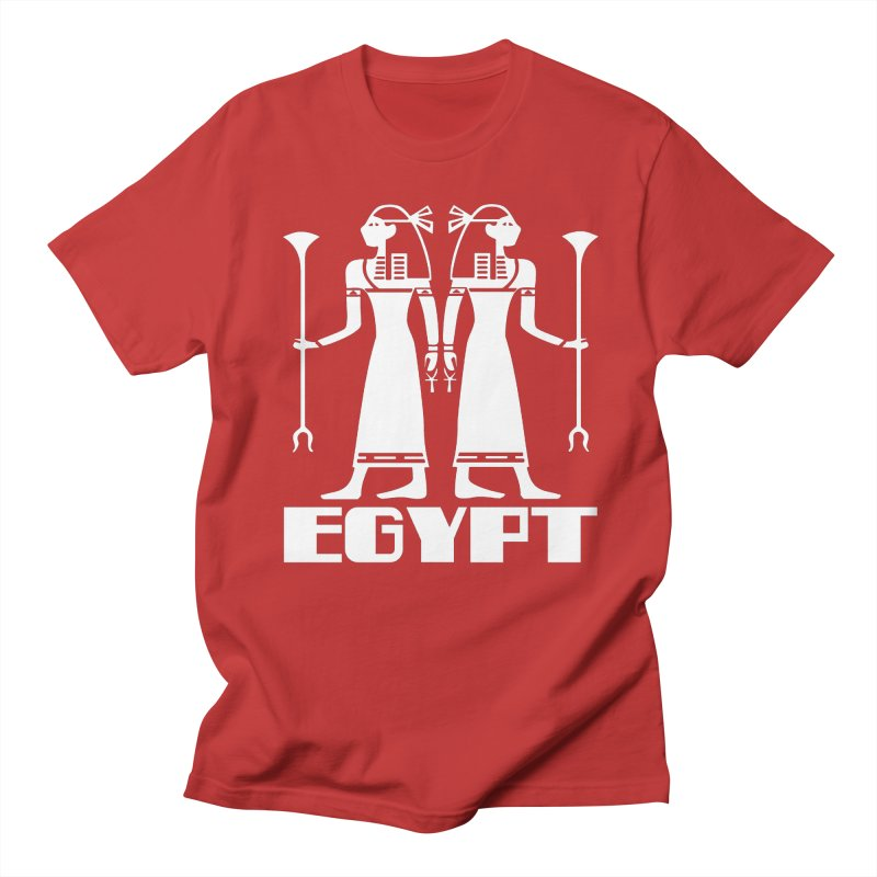 EGYPT-2 in Men's Regular T-Shirt Red by THE ORANGE ZEROMAX STREET COUTURE