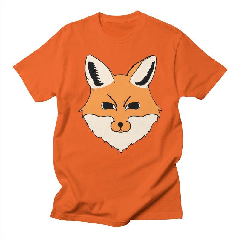 FOX in Men's Regular T-Shirt Orange Poppy by THE ORANGE ZEROMAX STREET COUTURE