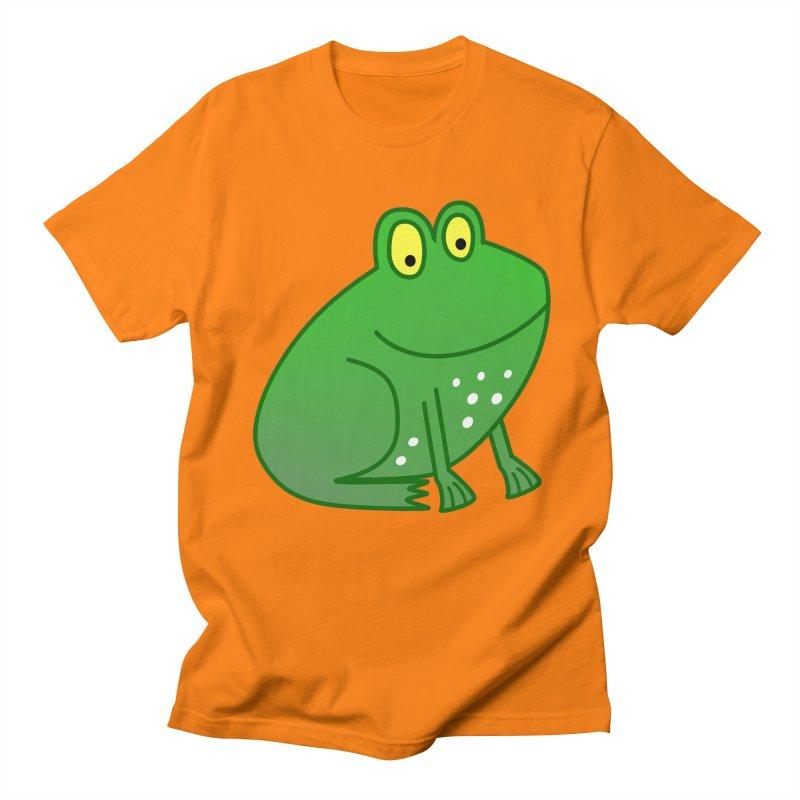 FROG in Men's Regular T-Shirt Orange by THE ORANGE ZEROMAX STREET COUTURE
