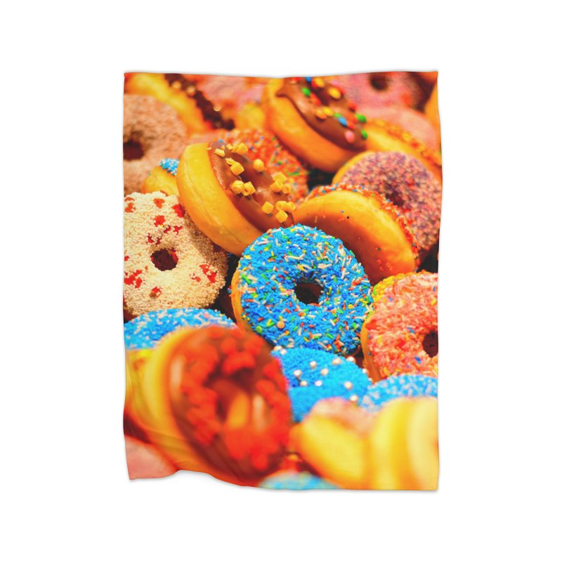DONUTS Home Blanket by THE ORANGE ZEROMAX STREET COUTURE
