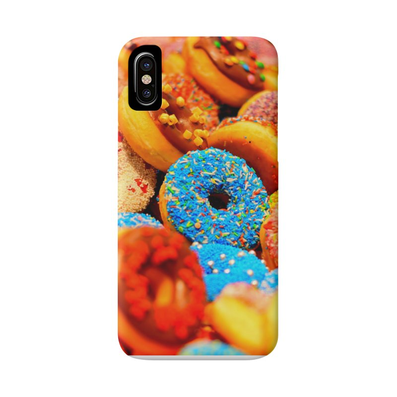 DONUTS Accessories Phone Case by THE ORANGE ZEROMAX STREET COUTURE