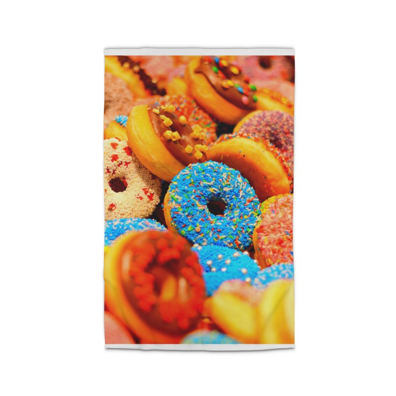 DONUTS Home Rug by THE ORANGE ZEROMAX STREET COUTURE