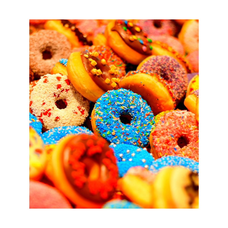 DONUTS by THE ORANGE ZEROMAX STREET COUTURE