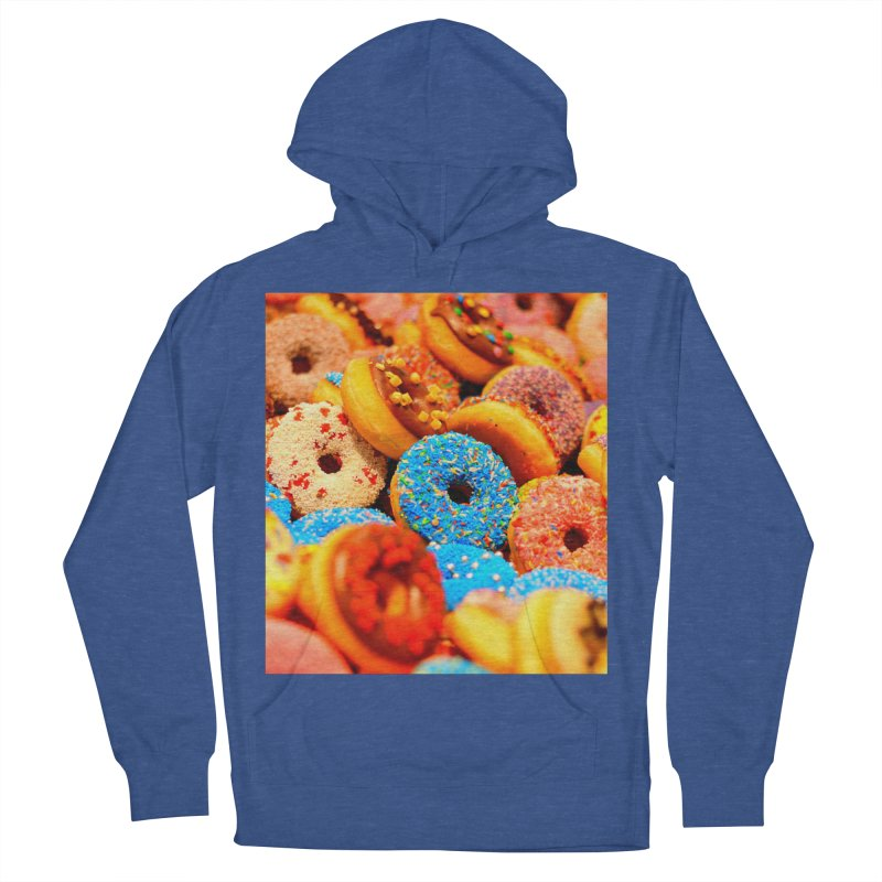 DONUTS Men's French Terry Pullover Hoody by THE ORANGE ZEROMAX STREET COUTURE